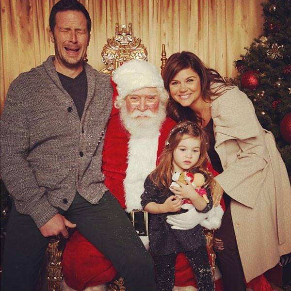 Tiffani Thiessen, Family, Instagram
