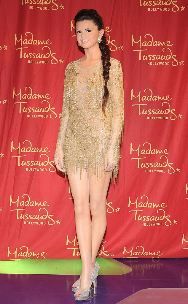 Selena Gomez, Madame Tussaud Wax Figure
