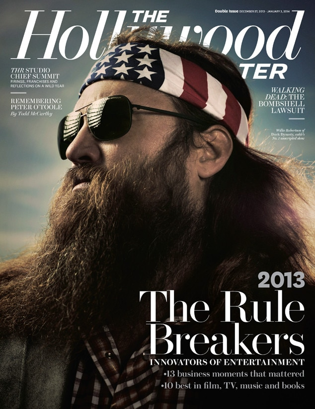 Duck Dynasty, Willie Robertson, Hollywood Reporter, Cover