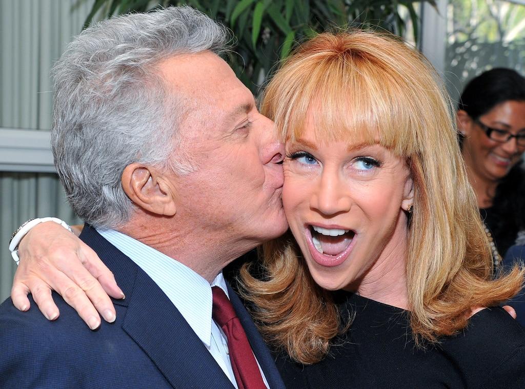 Dustin Hoffman, Kathy Griffin