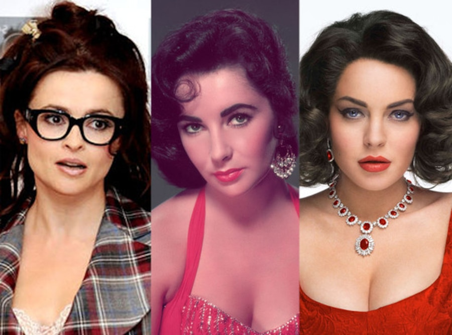 Helena Bonham Carter, Elizabeth Taylor, Lindsay Lohan