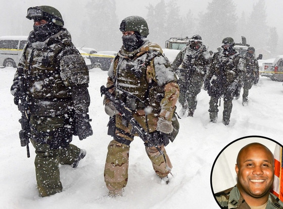 Christopher Dorner, SWAT Team, Big Bear