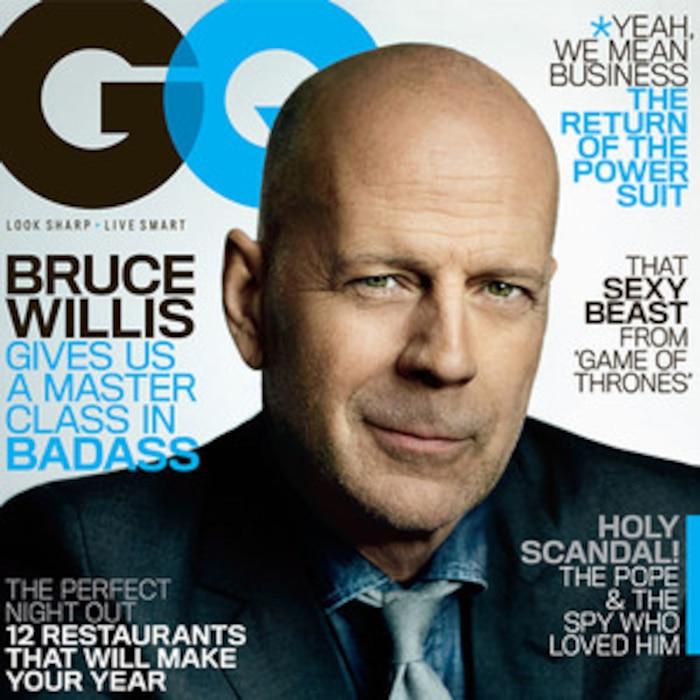 Bruce Willis, GQ