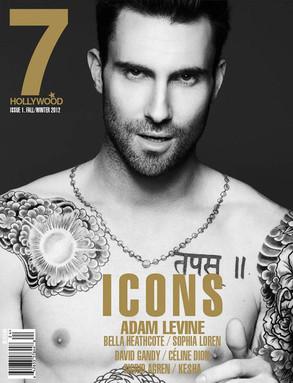 Adam Levine, 7 Hollywood Magazine