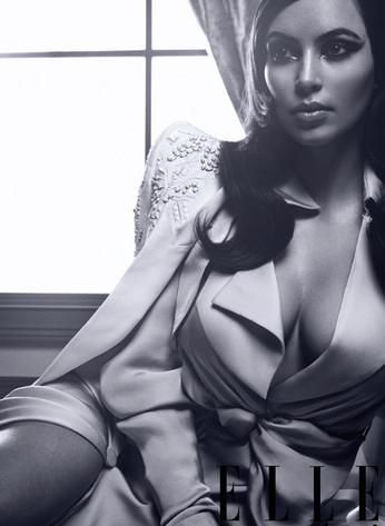 Kim Kardashian, Elle Magazine