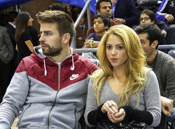 Shakira, Gerard Pique, Barcelona