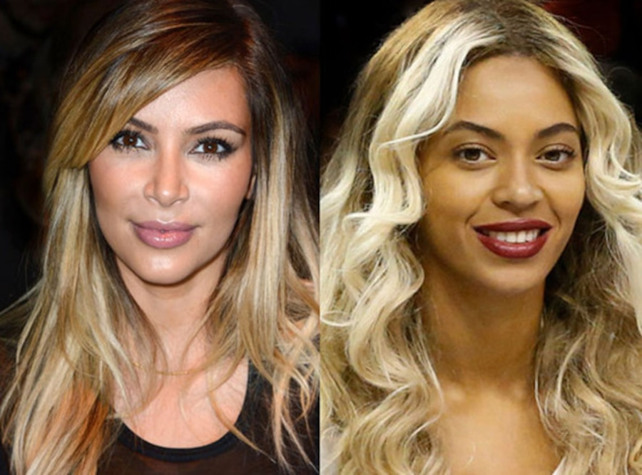 Kim Kardashian, Beyonce