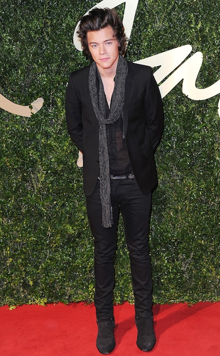 Harry Styles, British Fashion Awards, London
