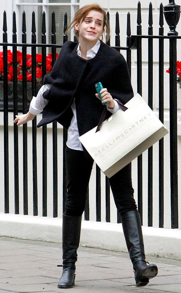 Emma Watson, Bond Street, London, Shopping
