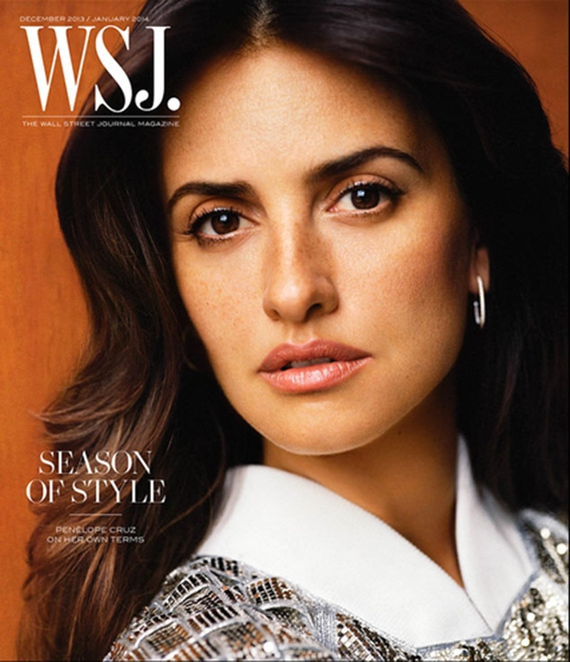 Penélope Cruz, Wall Street Journal, Cover