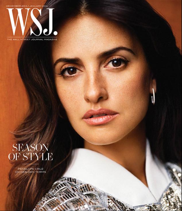 Penélope Cruz, Wall Street Journal, Cover