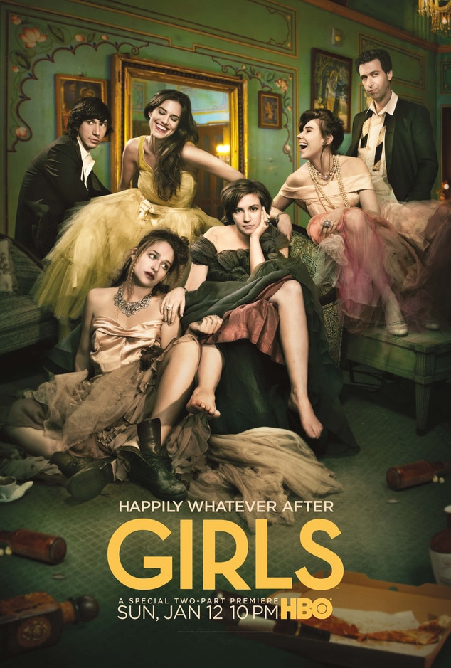 Girls, Season 3 Key Art