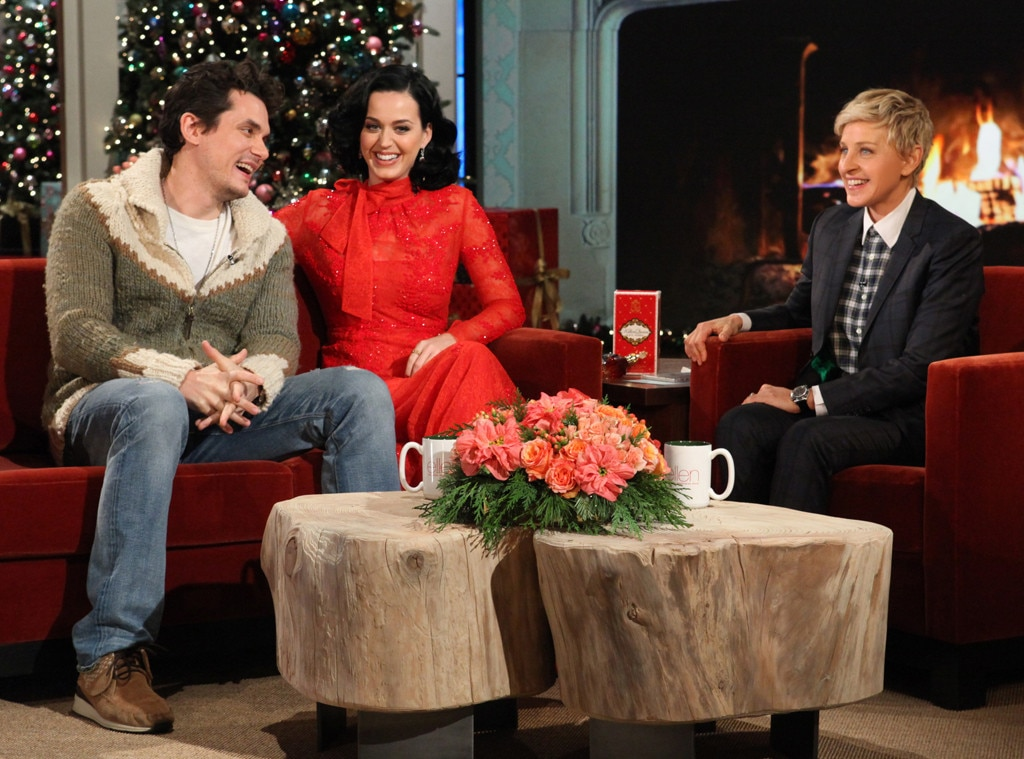 Katy Perry, John Mayer, Ellen