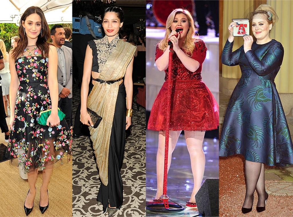Adele, Kelly Clarkson, Freida Pinto, Emmy Rossum