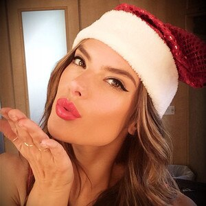 Alessandra Ambrosio, Christmas, Instagram