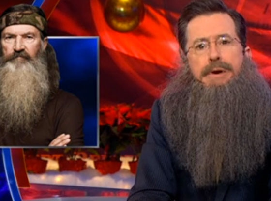 Stephen Colbert, Duck Dynasty
