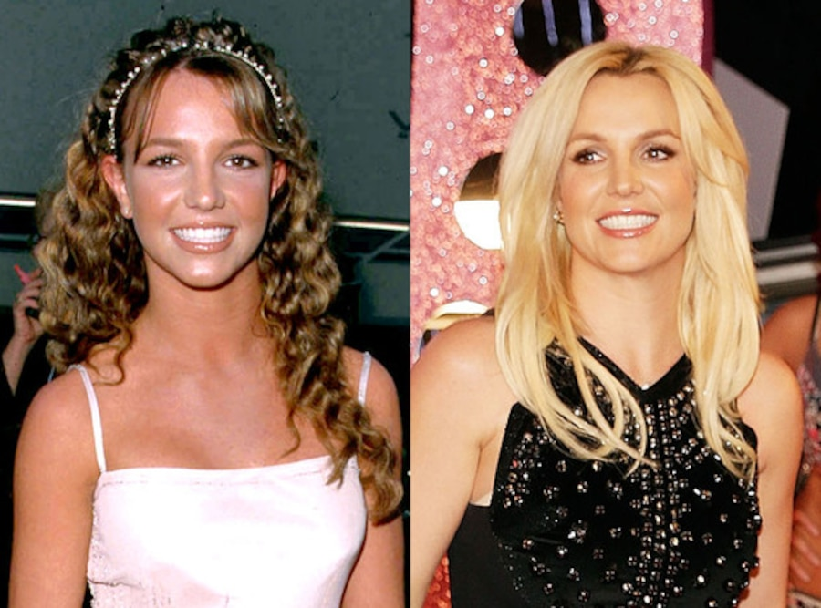 Britney Spears, Then & Now