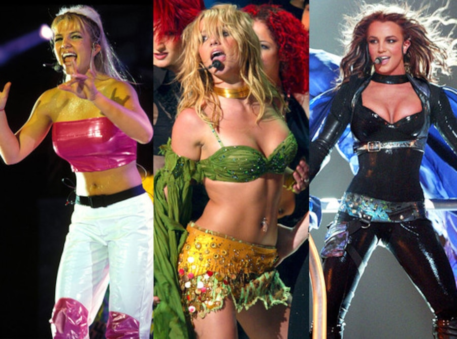 Britney Spears Past Tours