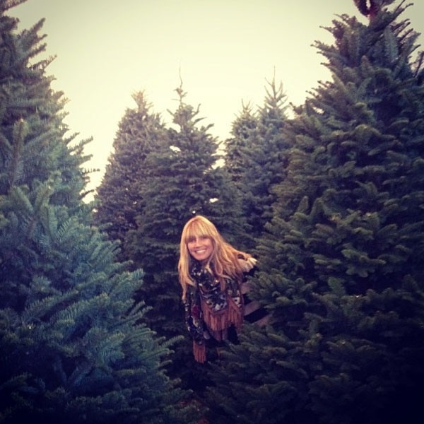 Heidi Klum, Christmas