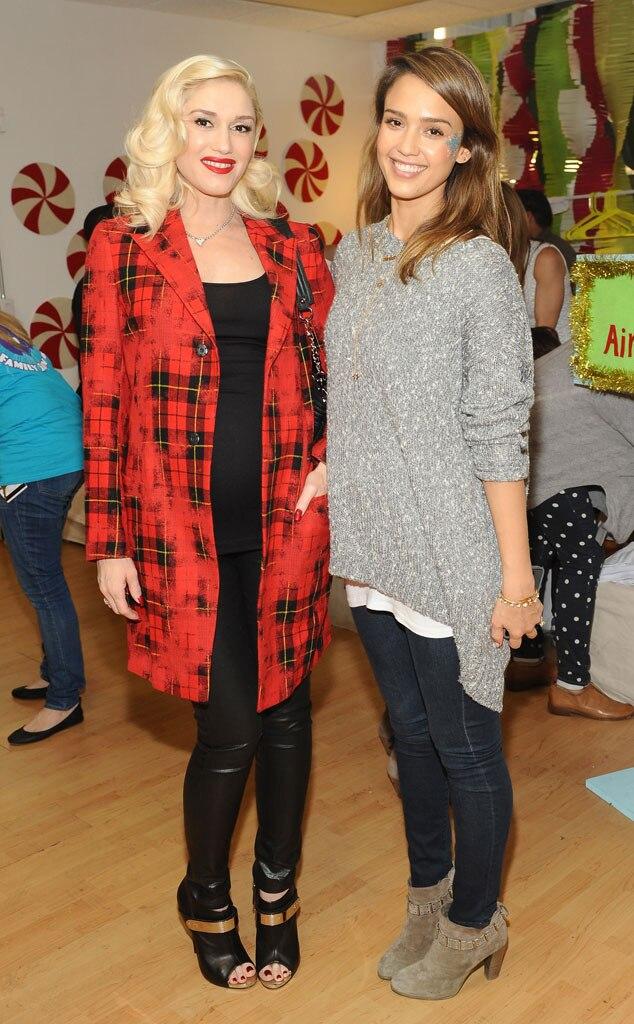 Gwen Stefani, Jessica Alba