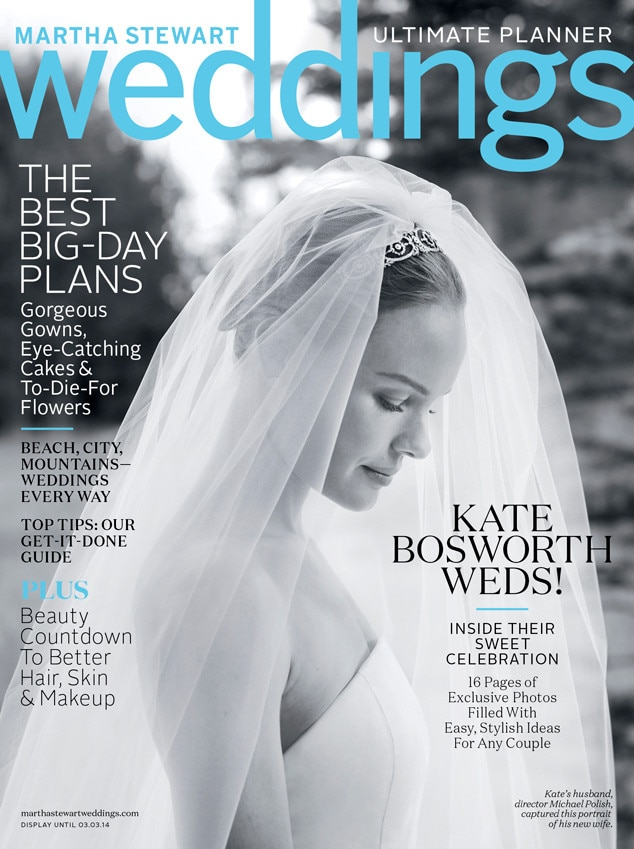 Kate Bosworth Covers Martha Stewart Weddings Winter Issue Shares