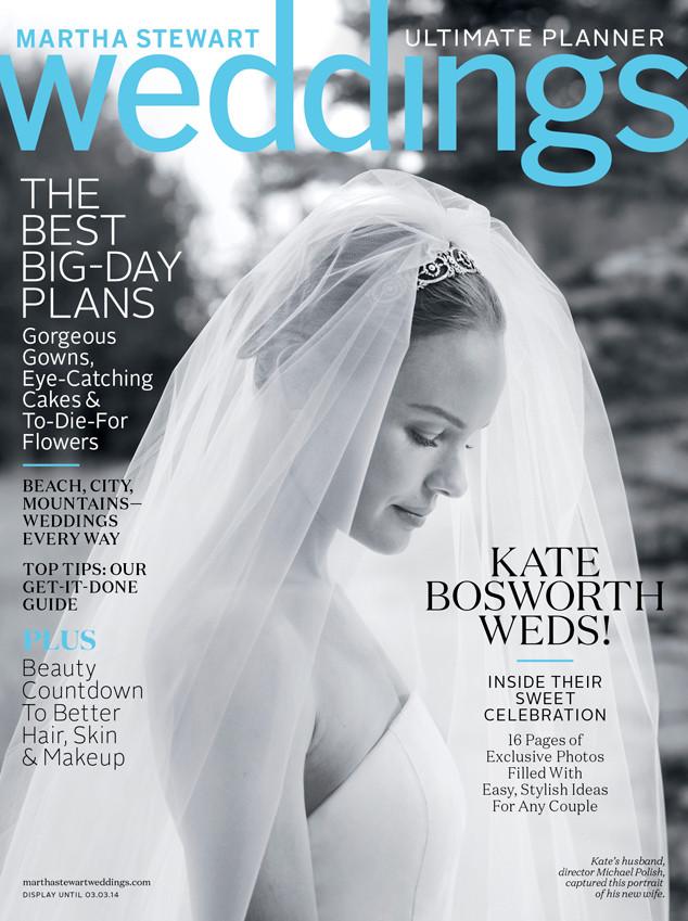 Kate Bosworth, Martha Stewart Weddings, Cover
