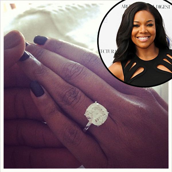 Gabrielle Union And Dwyane Wade Are Engaged See The