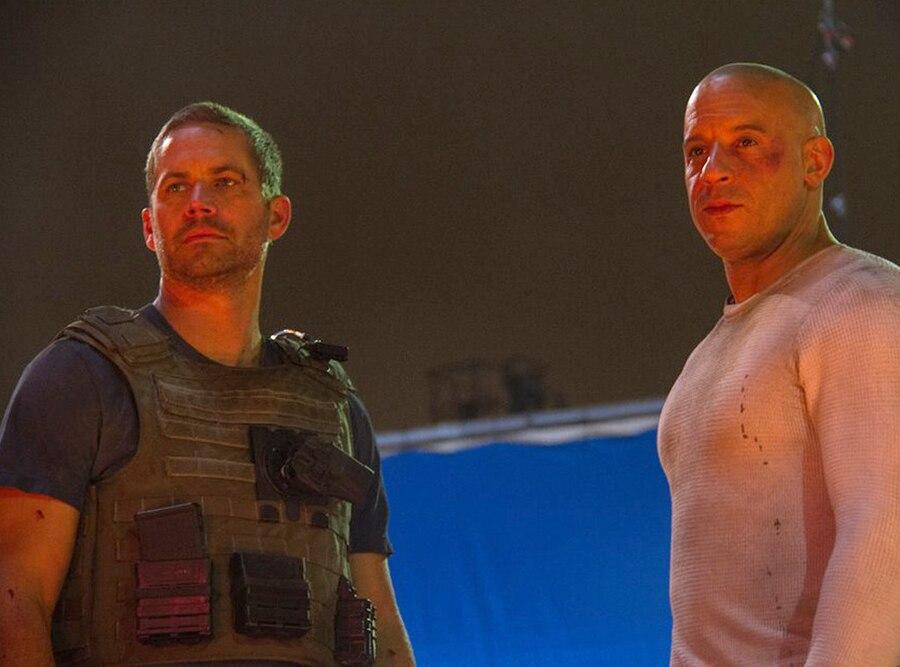 Vin Diesel, Paul Walker, Facebook