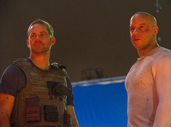 Vin Diesel, Paul Walker, Facebook