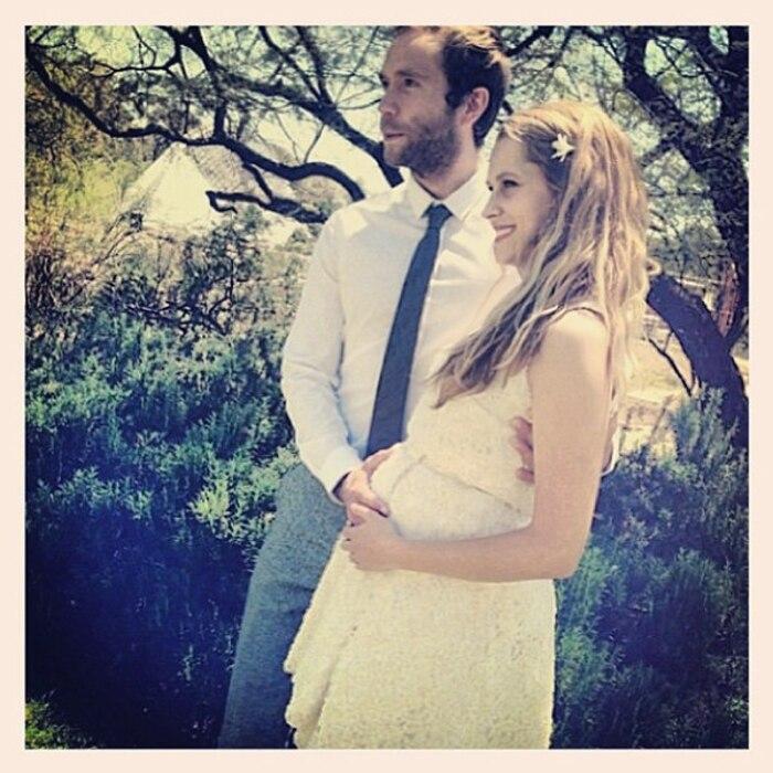 Teresa Palmer, Mark Webber, Wedding