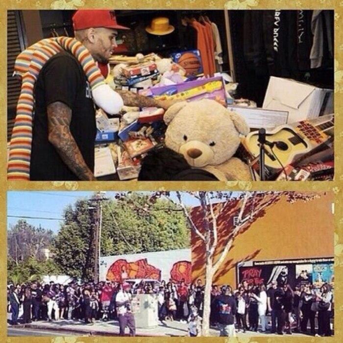 Chris Brown, Instagram