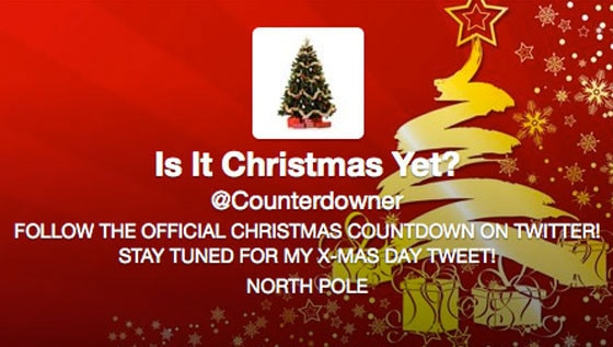Christmas Counterdown Twitter