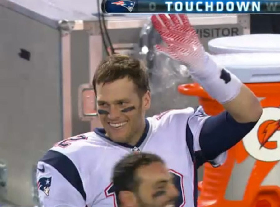 Tom Brady, High Five