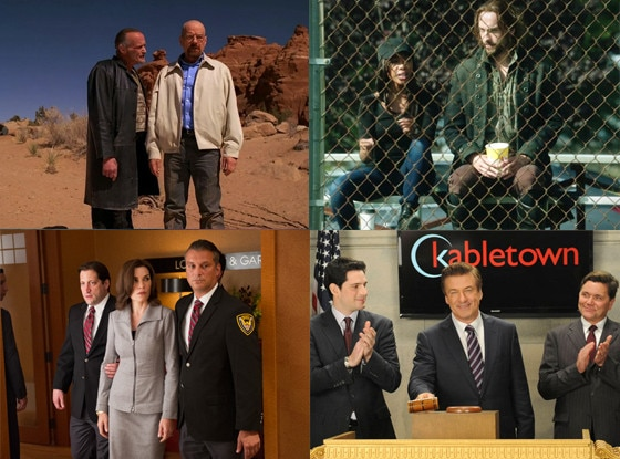 30 Rock, The Good Wife, Sleepy Hollow, Breaking Bad