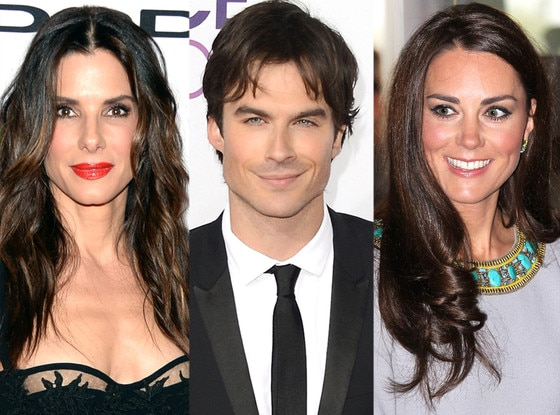 Sandra Bullock, Ian Somerhalder, Kate Middleton, Duchess Catherine