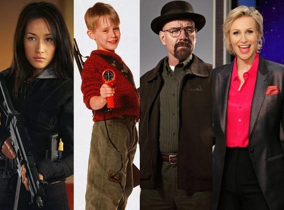 Maggie Q, Macaulay Culkin, Jane Lynch,  Bryan Cranston