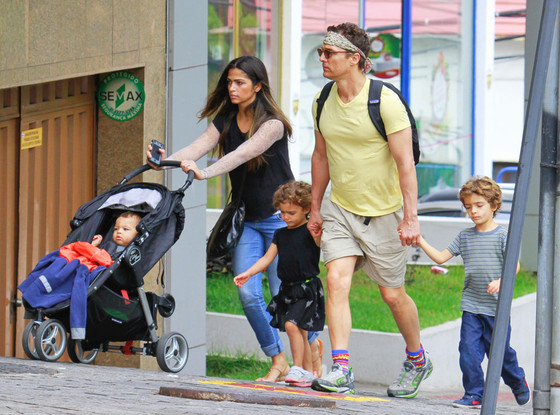 Matthew McConaughey, Camila Alves, Levi, Vida, Livingston