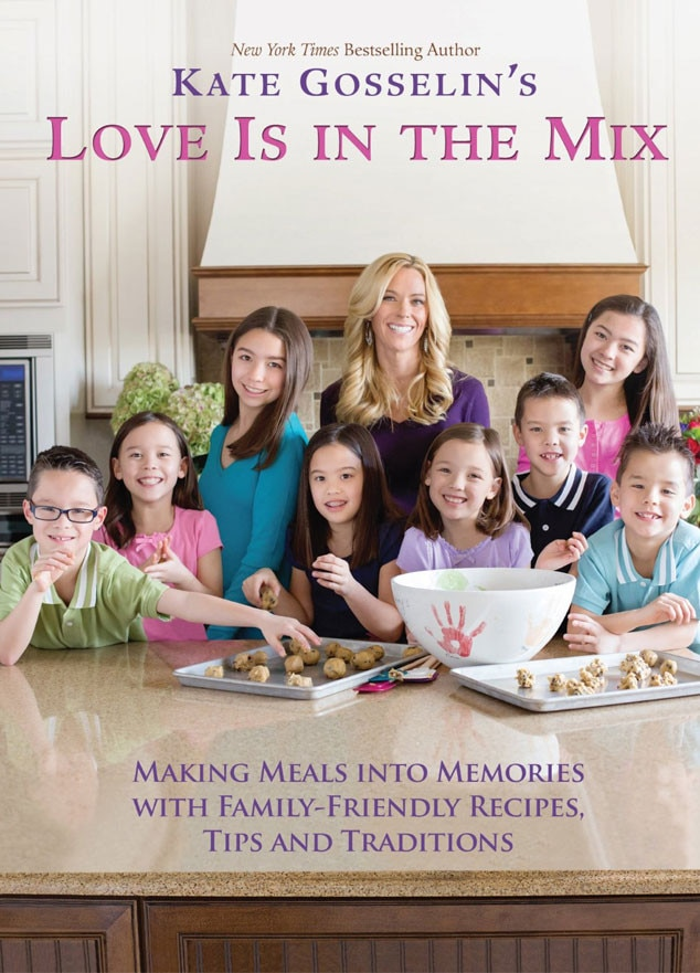 Kate Gosselin, Love Is in the Mix, Cookbook