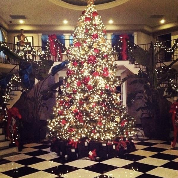 Kardashian Christmas Tree
