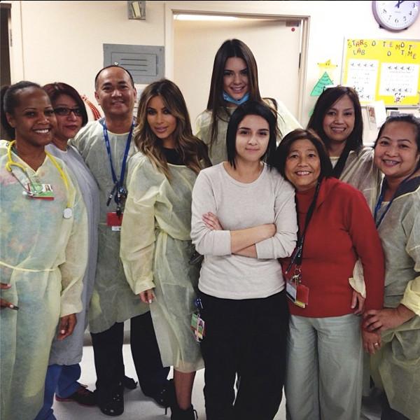 Kendall Jenner, Kim Kardashian, Instagram