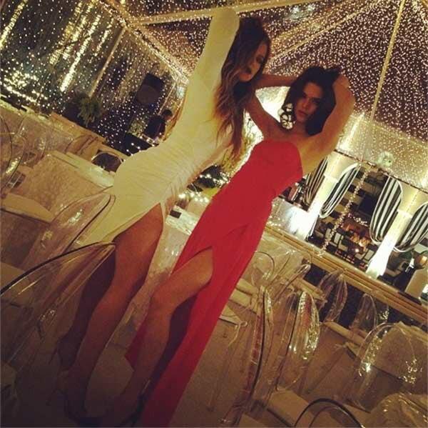 Khloe Kardashian, Kendall Jenner, Jenner Christmas Party
