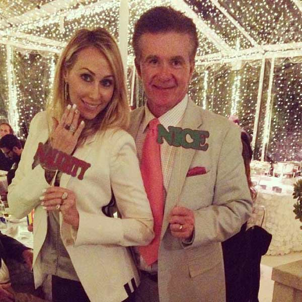 Tish Cyrus, Alan Thicke, Jenner Christmas Party