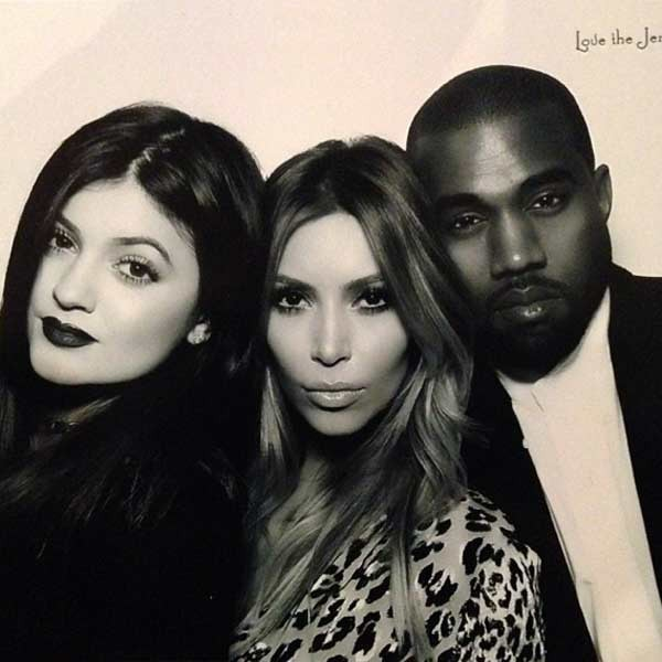 Kylie Jenner, Kim Kardashian, Kanye West, Jenner Christmas Party