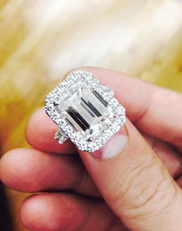 Evelyn Lozada, Engagement Ring