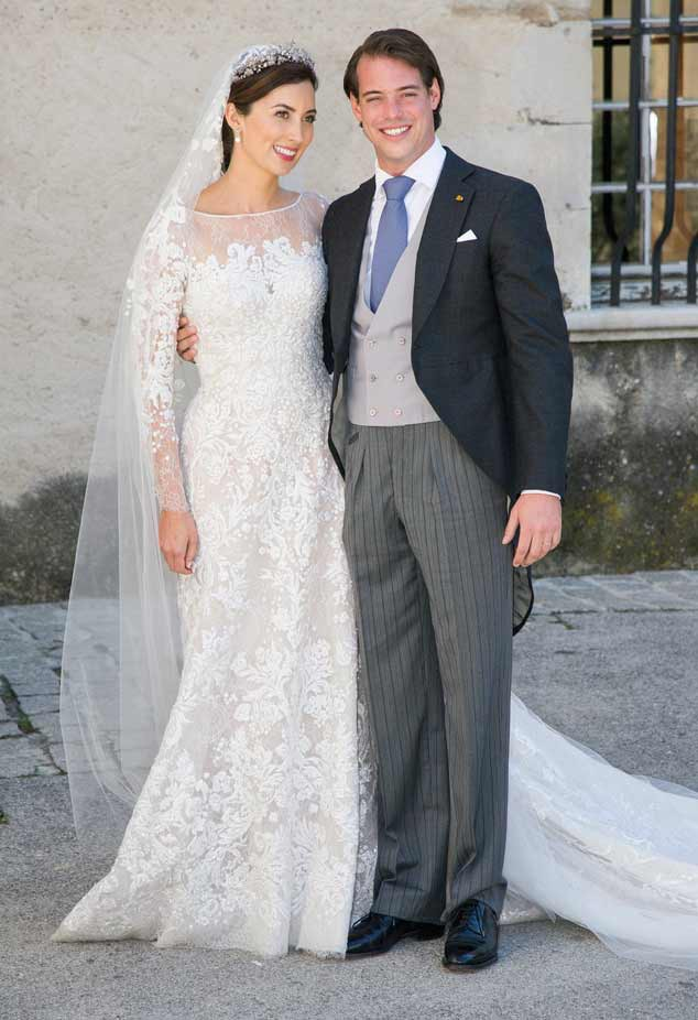 Princess Claire Of Luxembourg, Prince Felix Of Luxembourg, Wedding