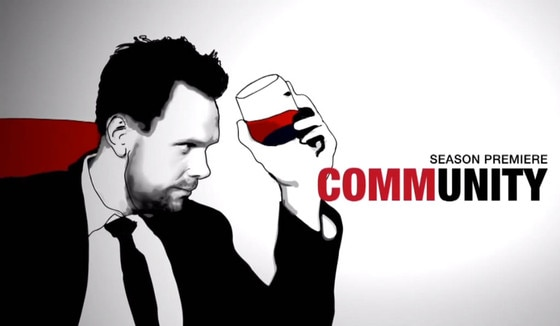 Community, Mad Men Spoof