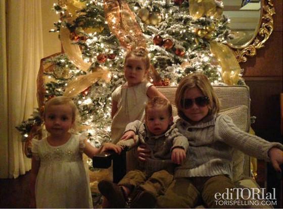 Tori Spelling Christmas