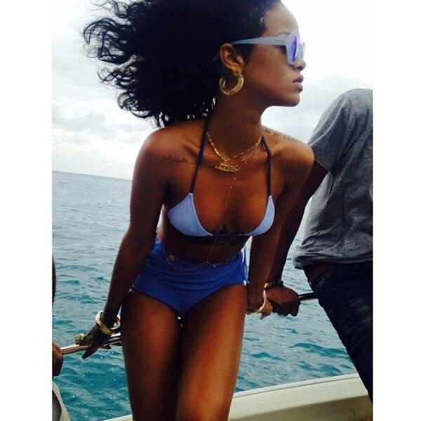 Rihanna, Instagram