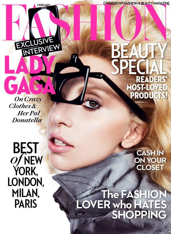 Lady Gaga, Fashion Magazine