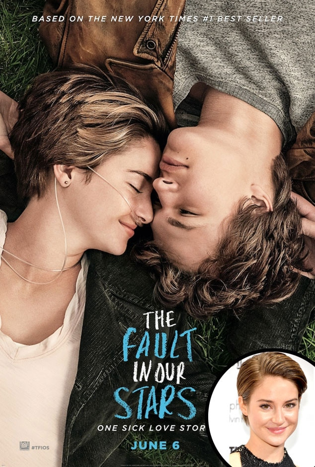 The Fault In Our Stars Poster, Shailene Woodley